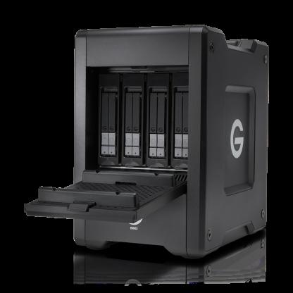 G-Speed Shuttle SSD side