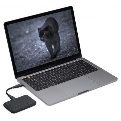 Lacie Rugged SSD Pro laptop
